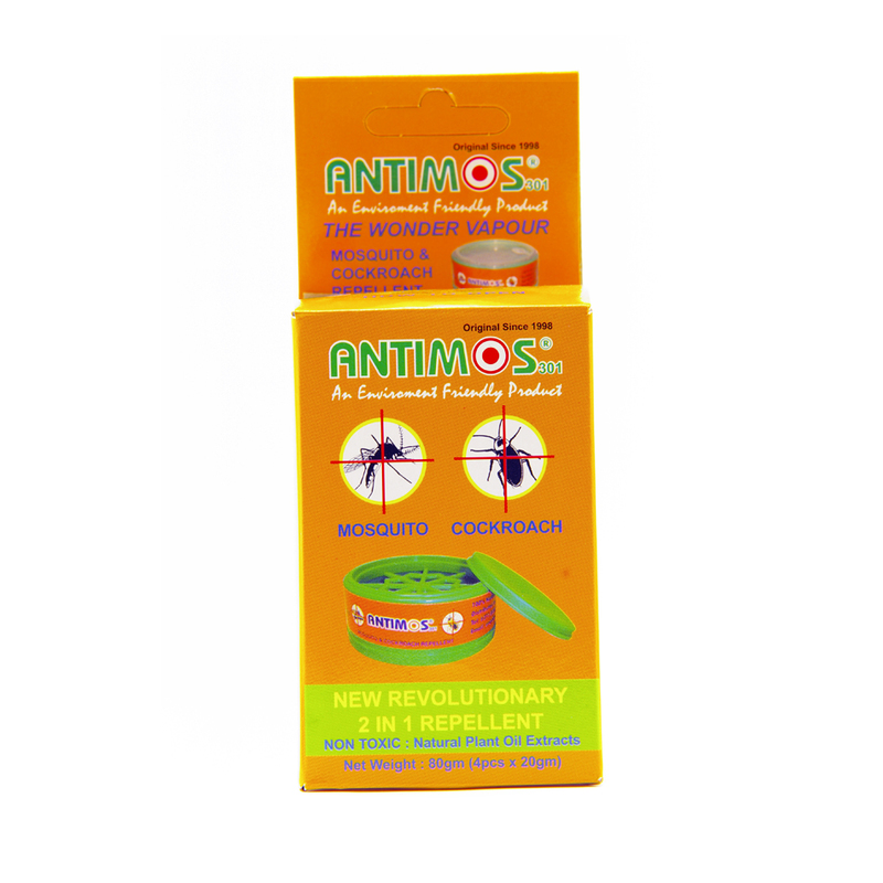Antimos 2-In-1 Repellent, 4pcs