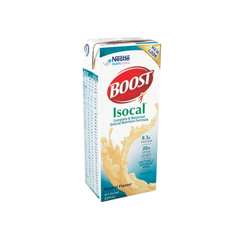 Boost Isocal Liquid, 237ml