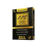 Okamoto 0.02 Hydro Polyurethane Condoms, 3pcs