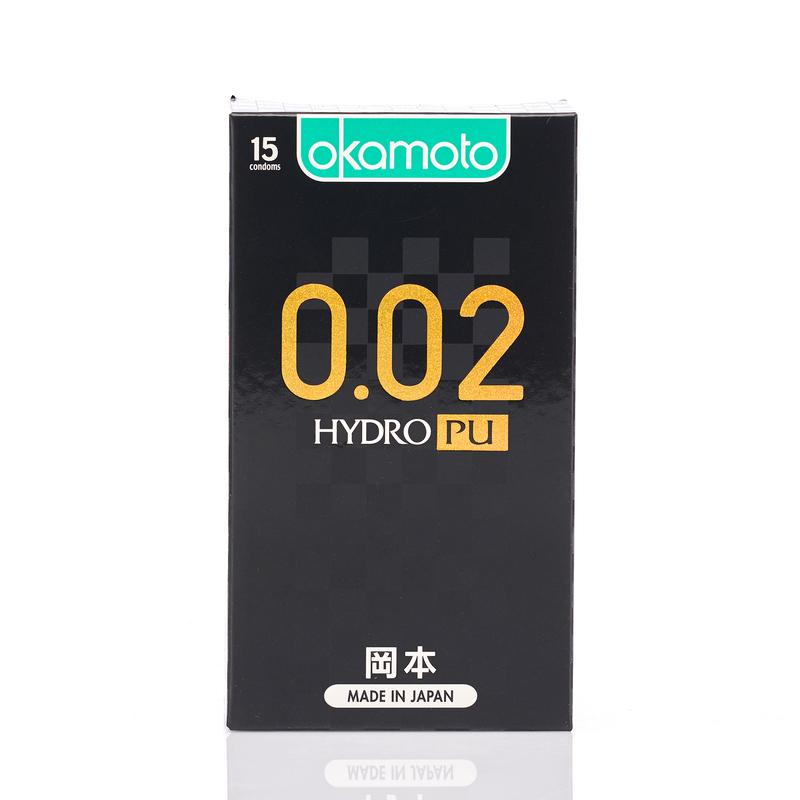 Okamoto 0.02 Hydro Polyurethane 15pcs
