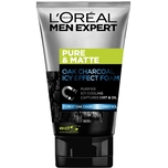 L'Oreal Men Expert Pure and Matte Charcoal Black Foam (Icy Effect) 100mL