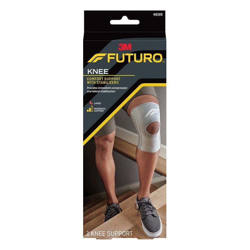 Futuro Comfort Knee Support With Stabilizers Large