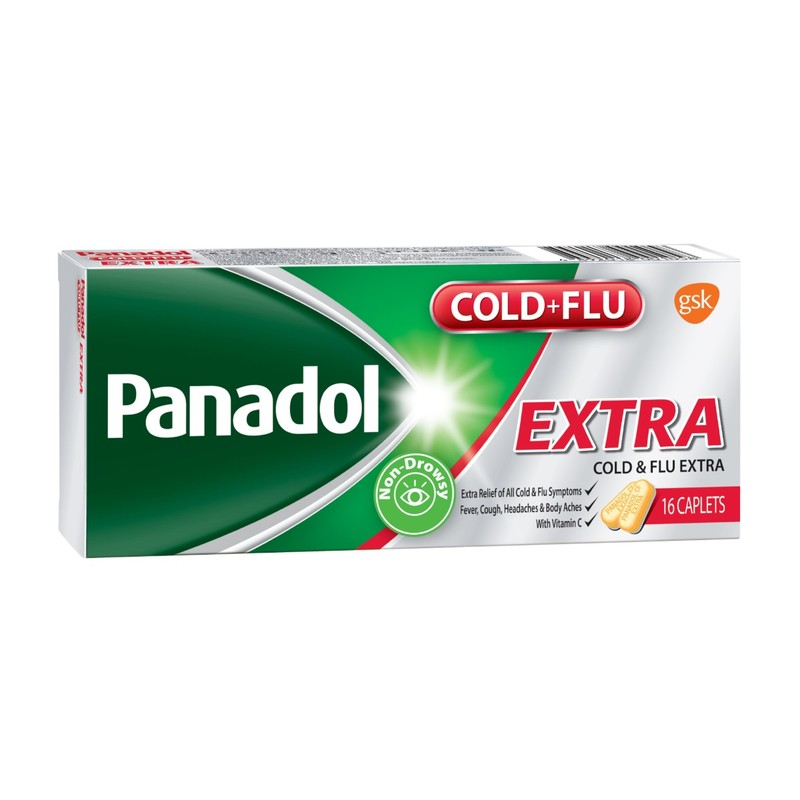 Panadol Cold and Flu Extra Tabulets 16pcs