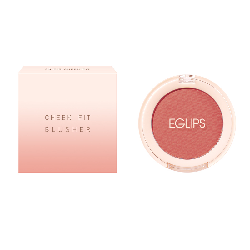 Eglips Cheek Fit Blusher 06 Fig Cheek Fit