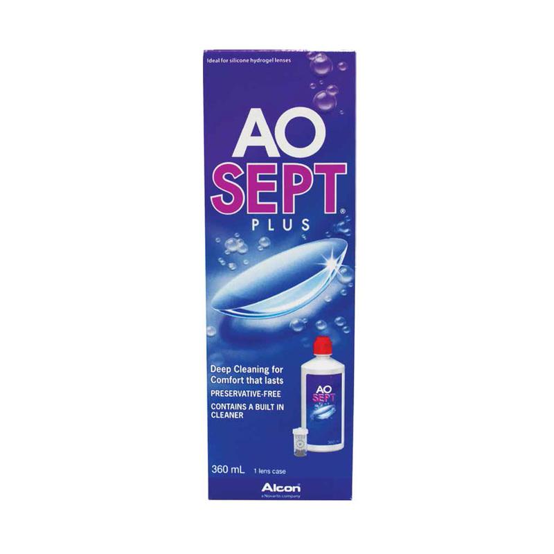 Alcon Aosept Plus 6 Disinfection Solution, 360ml