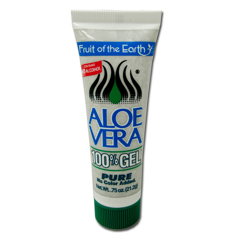 Fruit of the Earth 100% Aloe Vera Gel, 21.2g