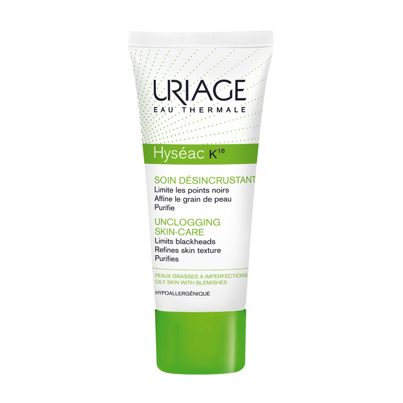 Uriage Hyseac K18 Unclogging Skin Care, 40ml