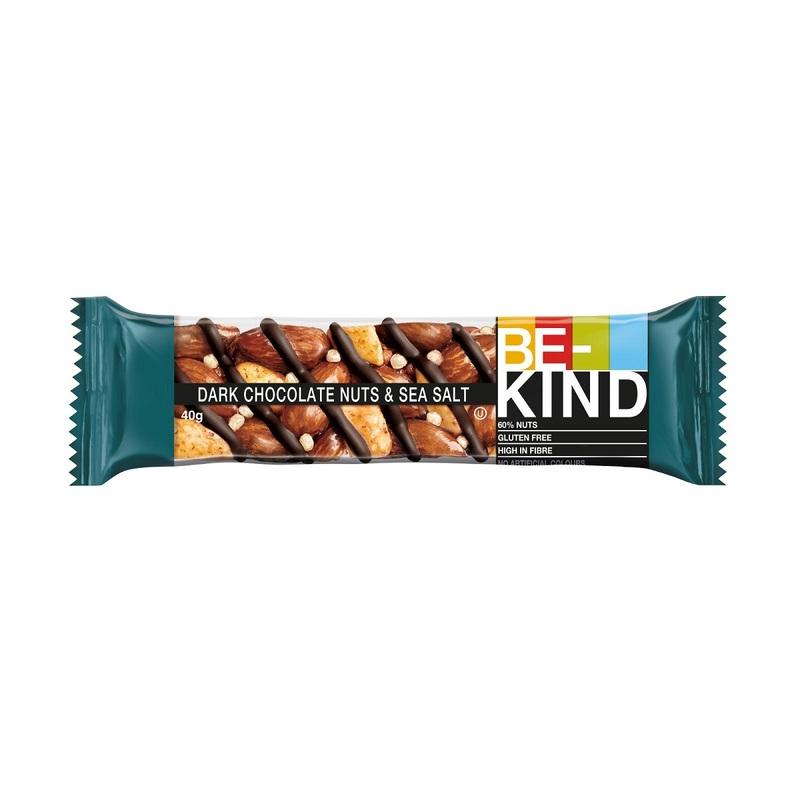 BE-KIND Dark Chocolate & Sea Salt 40g