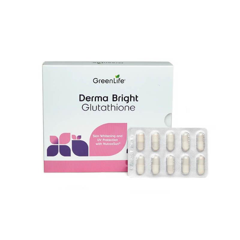GreenLife Derma Bright Glutathione, 60 tablets