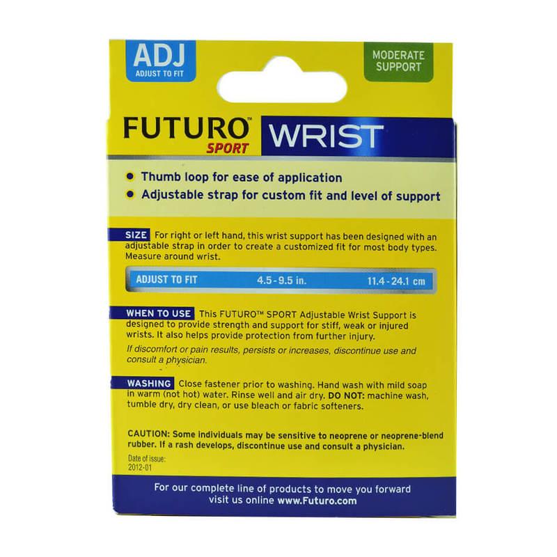 Futuro Sport Wrist Support Adjustable