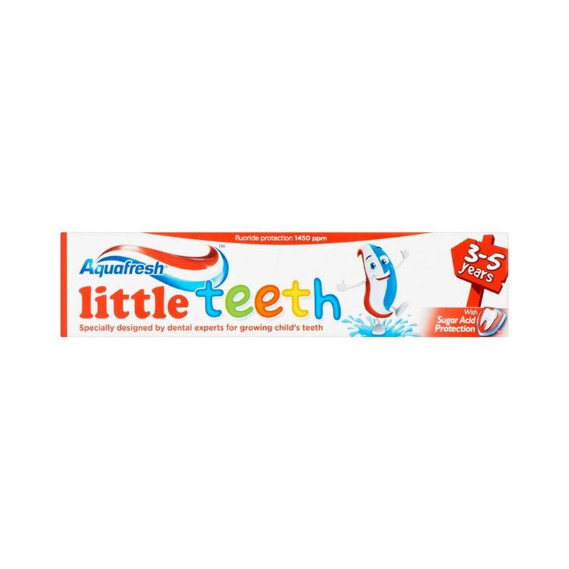 Aquafresh Little Teeth Toothpaste, 50ml