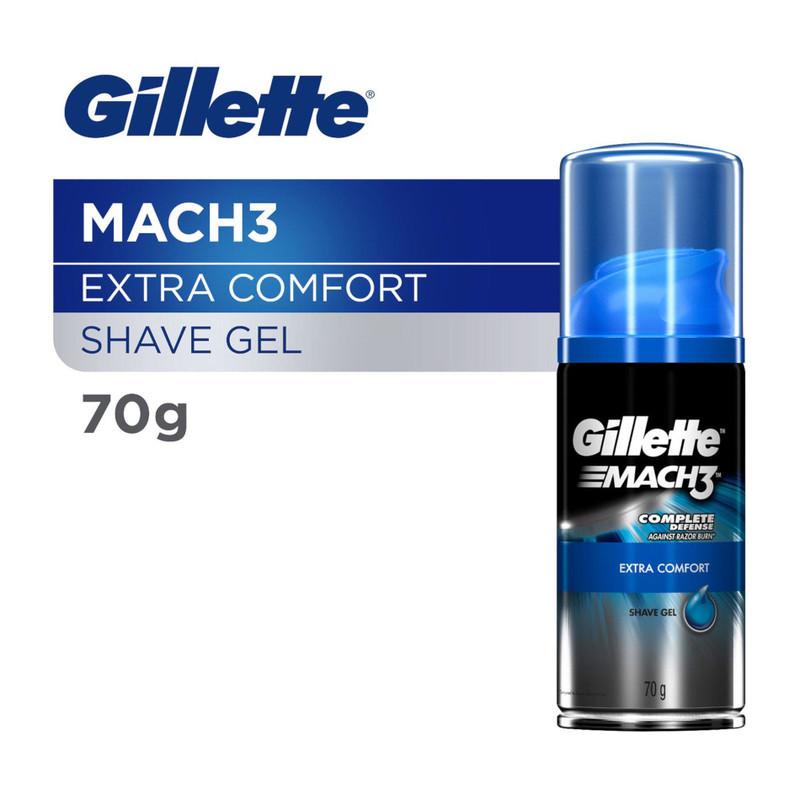 Gillette Mach 3 Shave Gel Extra Comfort, 70g