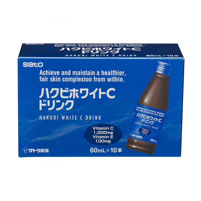 Hakubi White C Drink 60ml x 10