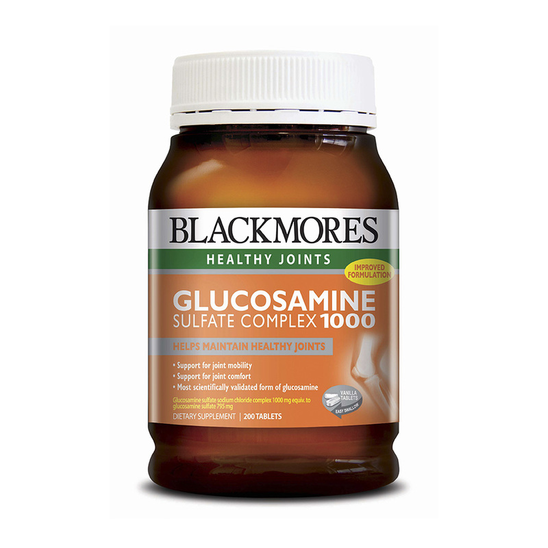 Blackmores Glucosamine 1000, 200 tablets