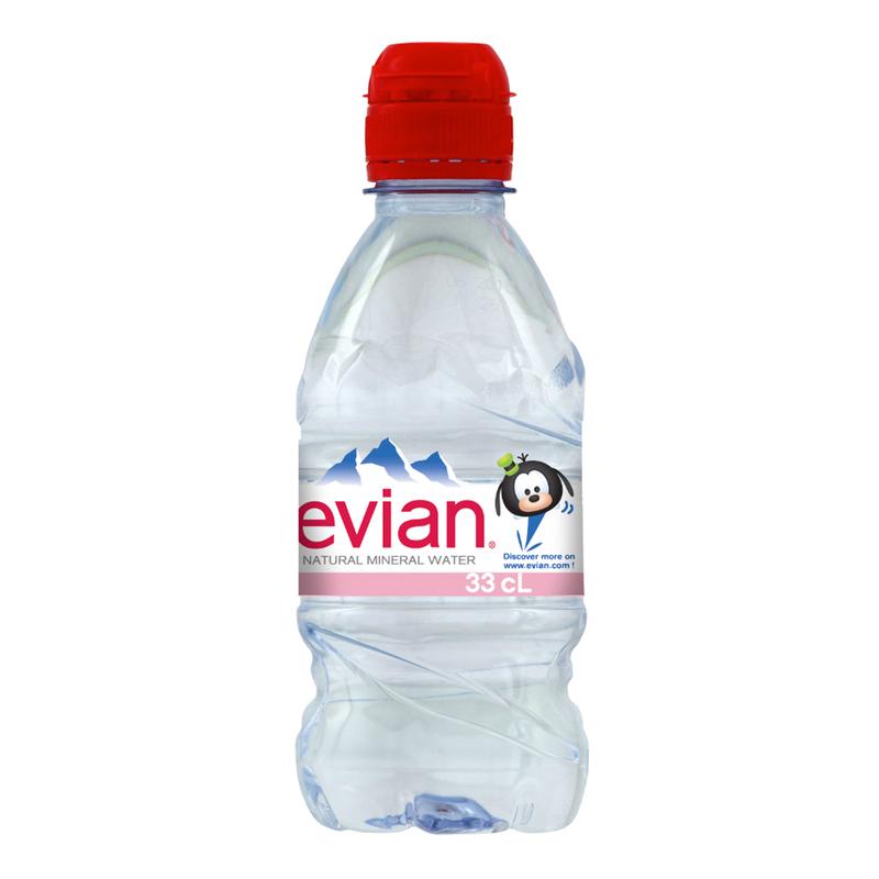 Evian Tsum Tsum Mineral Water, 24ml