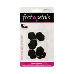 Foot Petals Pressure Pointz Spot Cushions Black