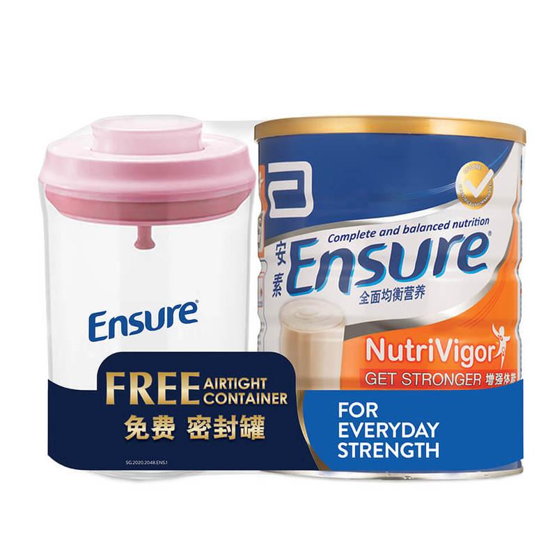 Ensure Nutrivigor 850g Bw Container