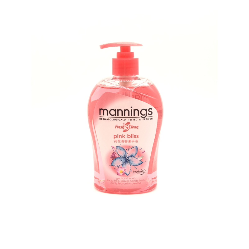 Mann Pink Bliss Waterlily Hand Wash 500mL