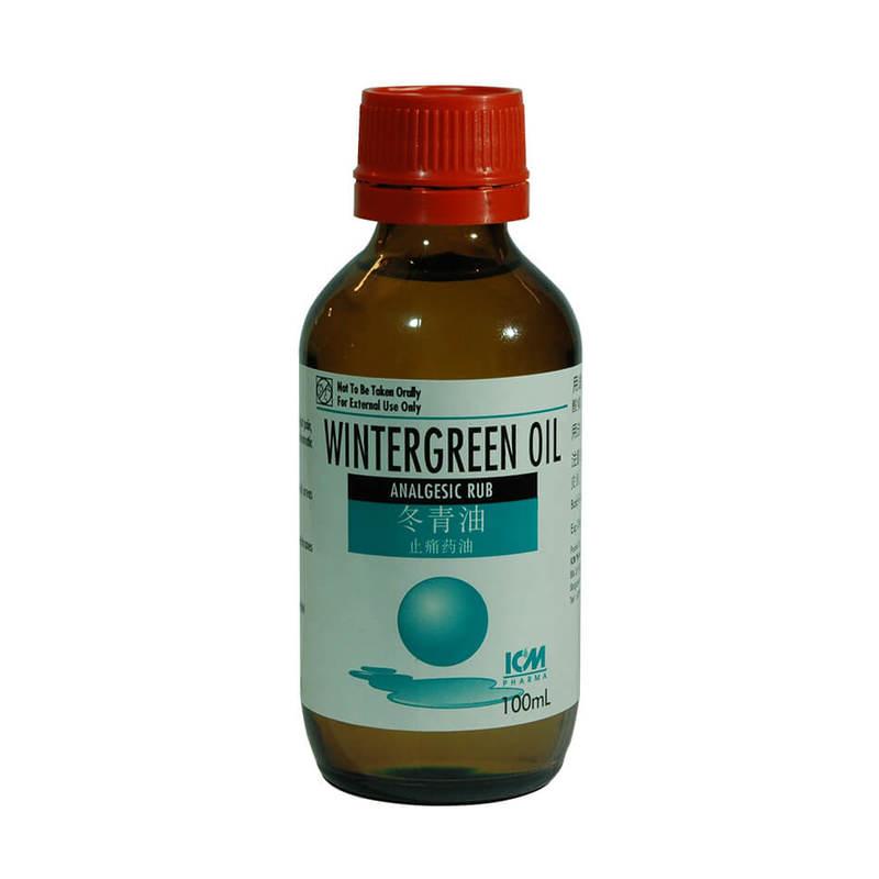 ICM Pharma Wintergreen Oil Bp 100ml