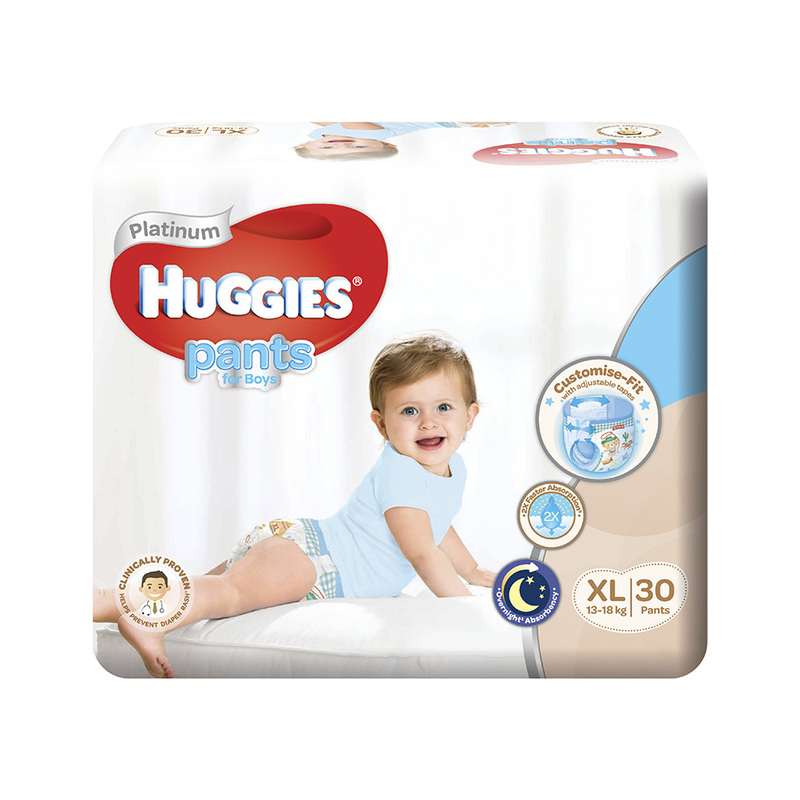 Huggies Platinum Pants Boy XL, 30pcs