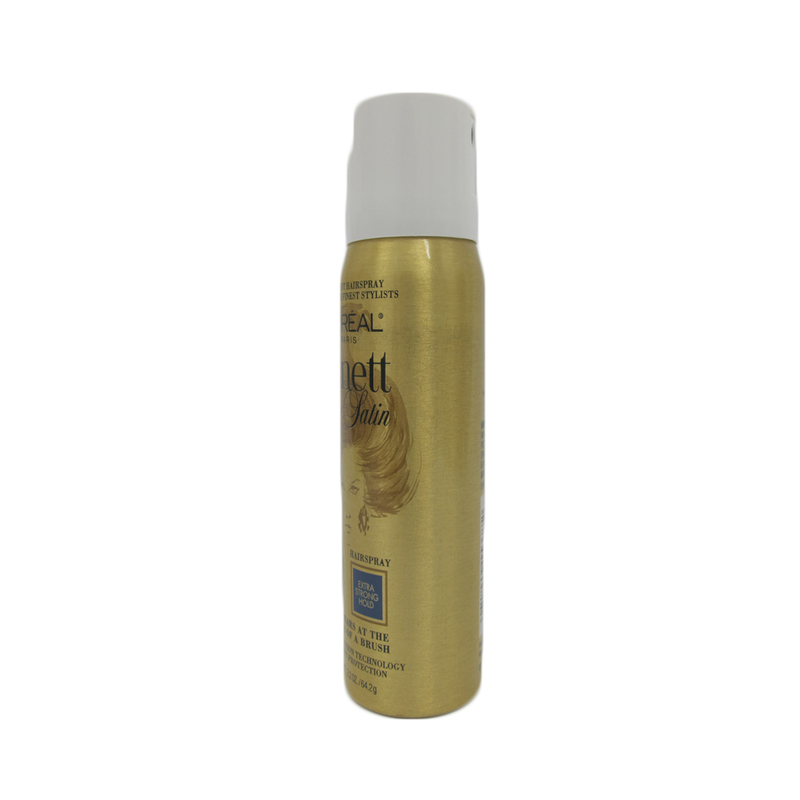 L'Oreal Elnett Satin Extra Strong Hold Hair Spray, 64.2g
