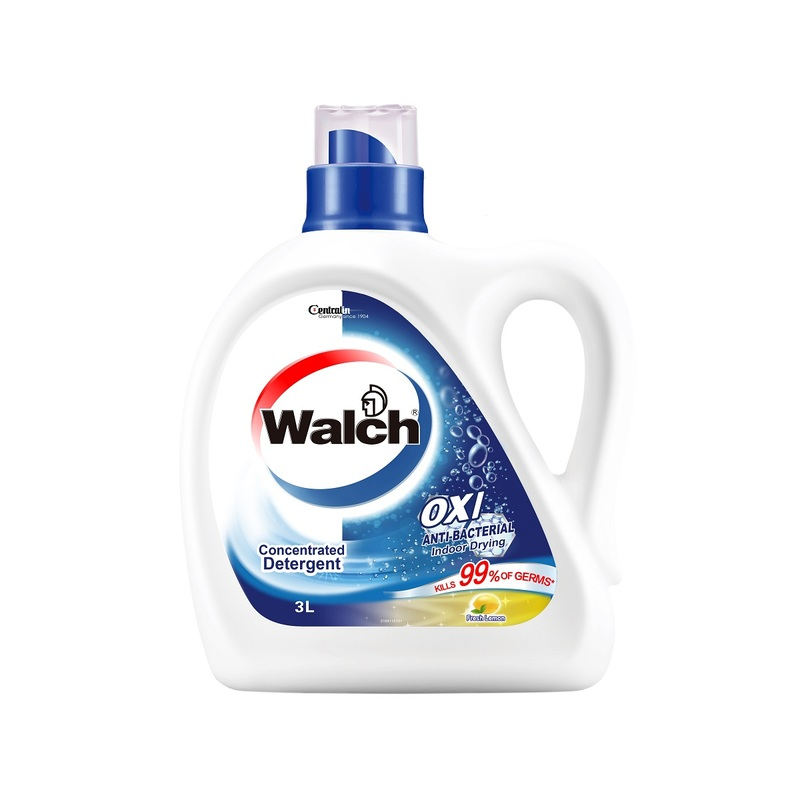 Walch Anti-Bacterial Laundry Detergent Lemon 3000mL