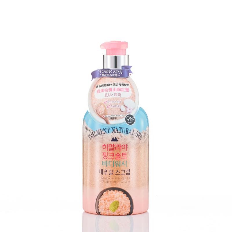 ON: THE BODY Spa Himalaya Pink Salt  Scrub body wash 600g