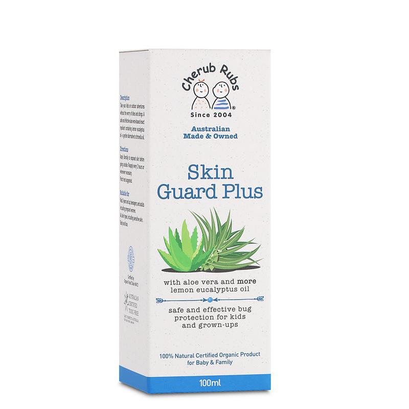 Cherub Rubs Skin Guard Plus Insect Repellent, 100ml