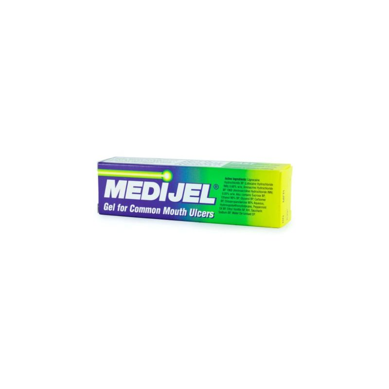 Medijel Gel for Common Mouth Ulcers, 15g