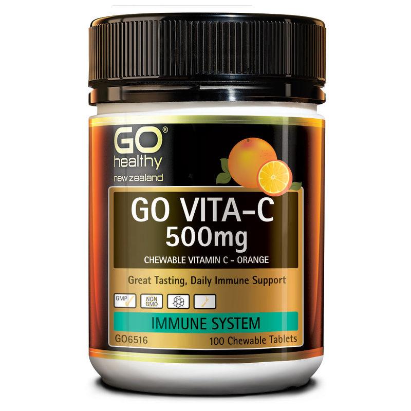 GO Healthy GO Vita-C 500Mg Orange 100s