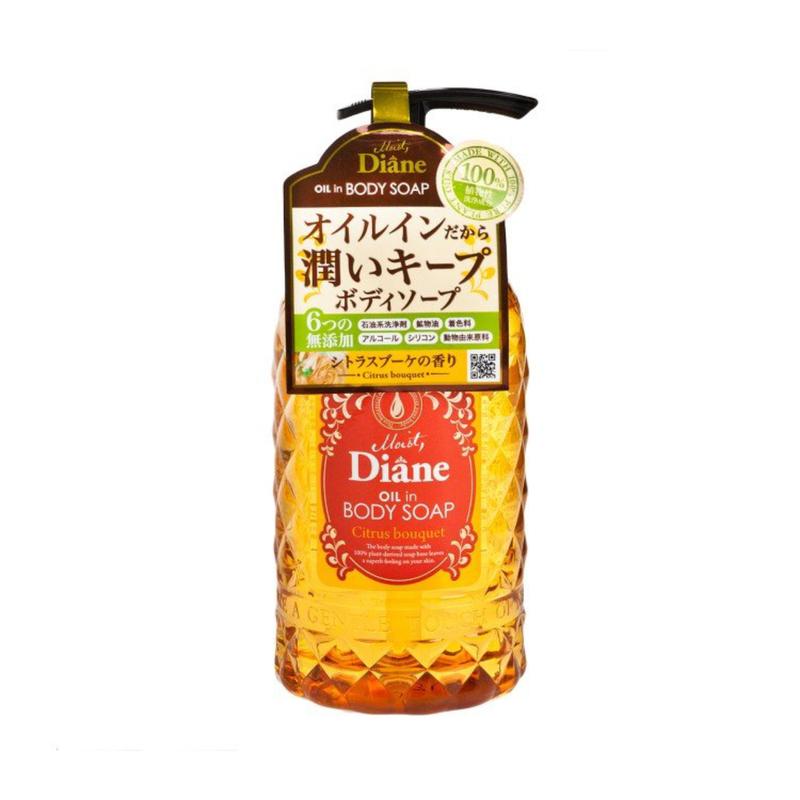 Moist Diane Oilin Body Soap (Citrus Bouquet) 500mL