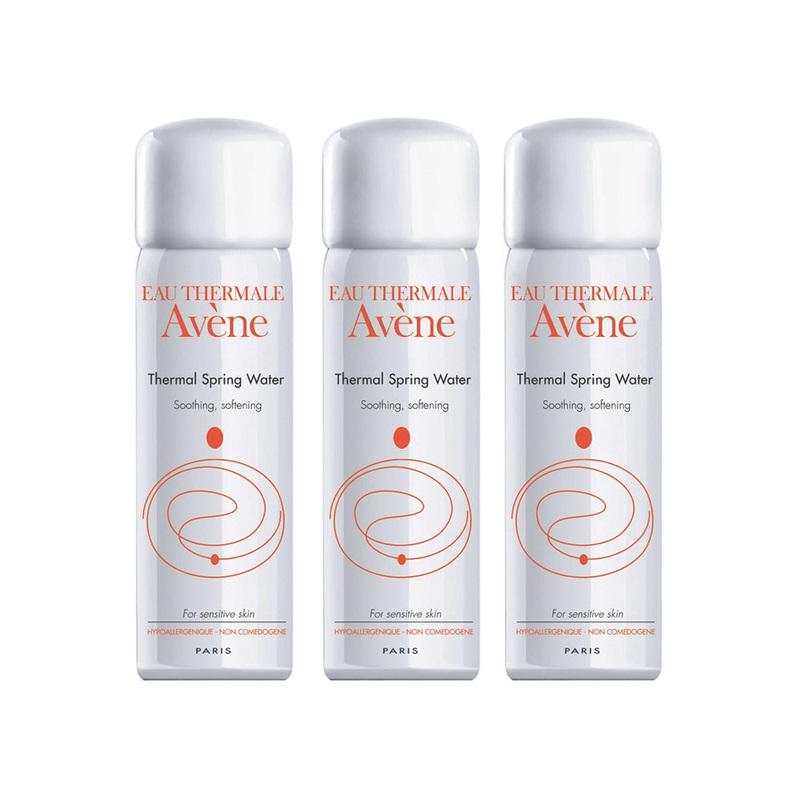 Avene Trio Thermal Spring Water Spray Set Triple Pack, 3x50ml