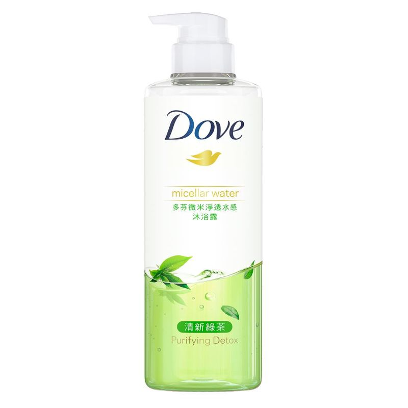 Dove Detoxifying Micellar Shower Gel 500ml