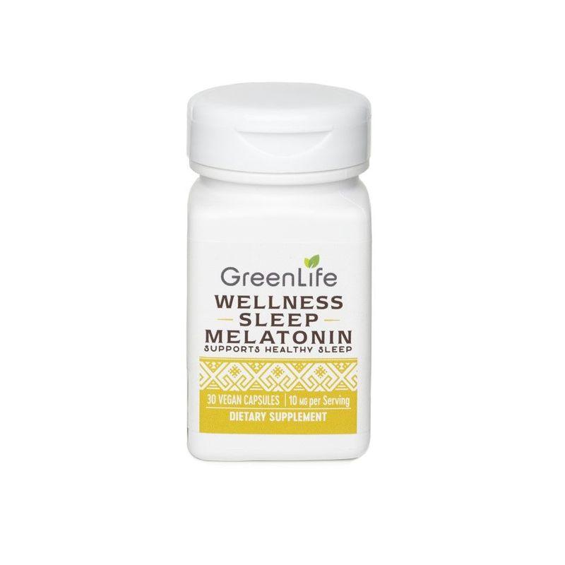 GreenLife Wellness Sleep Melatonin 10 mg, 30 capsules