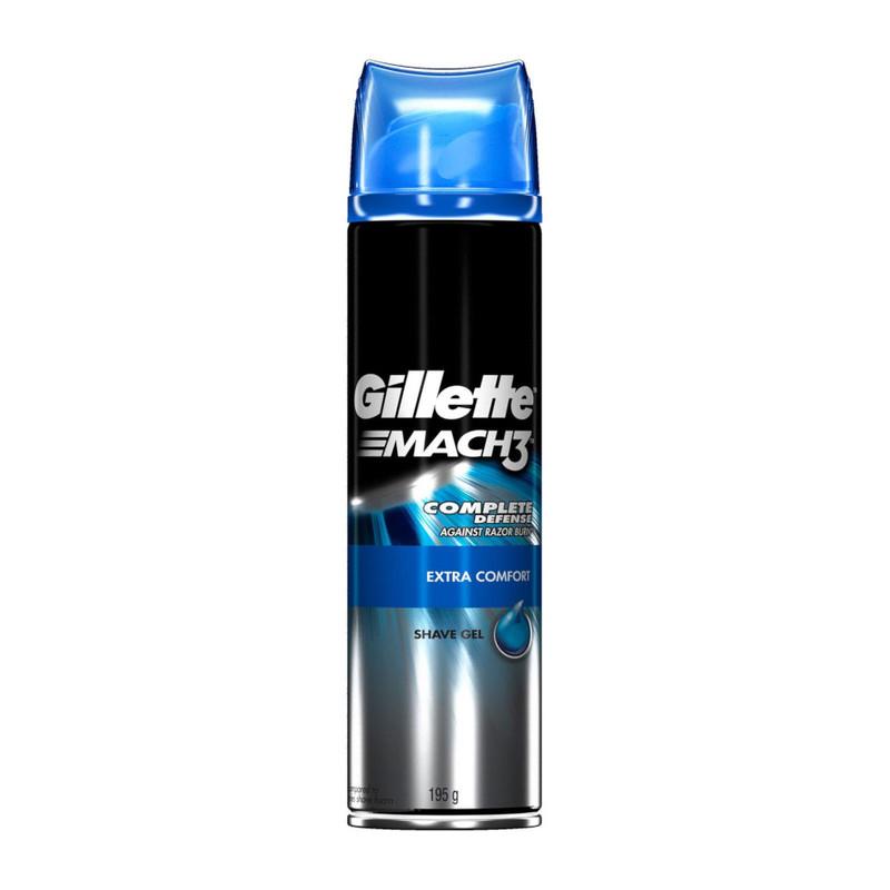 Gillette Mach 3 Shave Gel Extra Comfort ,195g
