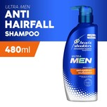 Head & Shoulders Ultramen Anti-Hairfall Shampoo, 480ml