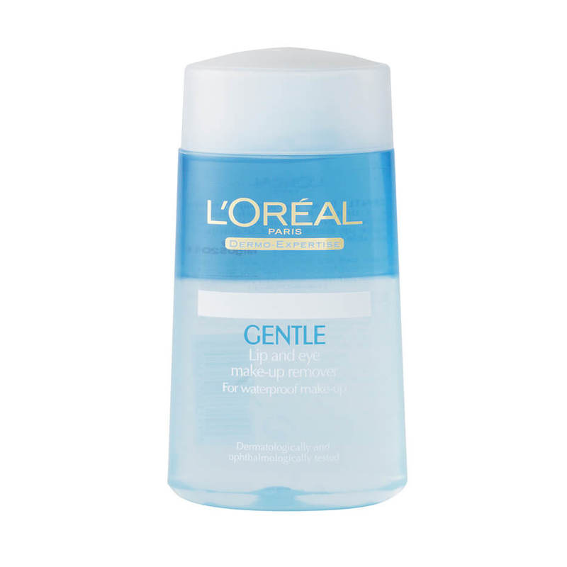 Dermo-Expertise L'Oreal Gentle Lip And Eye Makeup Remover, 125ml