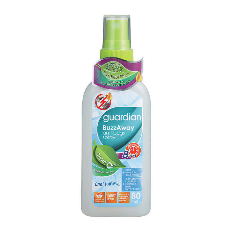 Guardian Buzzaway Spray Citriol Plus, 80ml