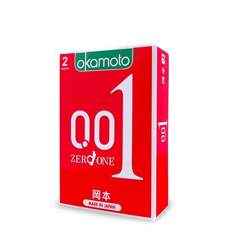 Okamoto 001 Polyurethane Condoms, 2pcs