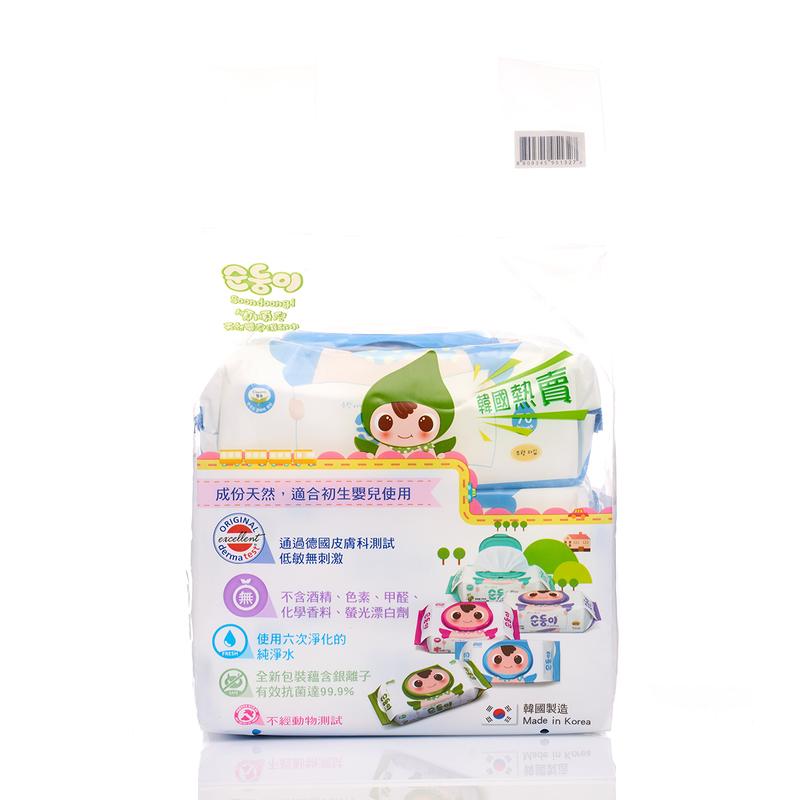 Soondoongi Premium Wipes Promo Pack 70pcs x3bags