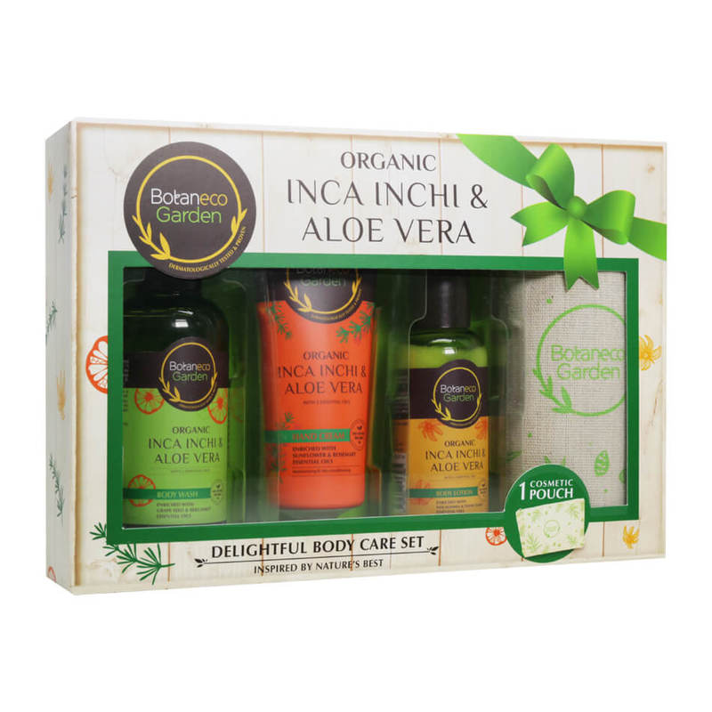 Botaneco Garden Organic Inca Inchi Delightful Body Care Set