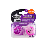 Tommee Tippee 6-18m Night time Soother 2pcs