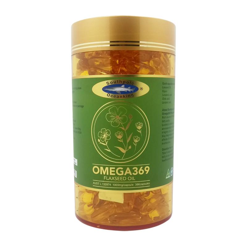 Ocean King Deep Ocean Omega 3 6 9,  366 capsules