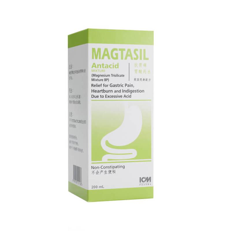 ICM Pharma Magtasil Antacid Mixture, 200ml