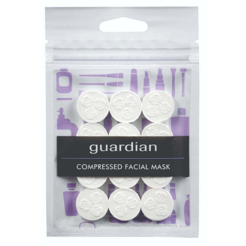 Guardian Compressed Mask Sheet 12 Pieces