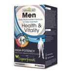 Natures Aid Men Multi-Vitamins & Mineral with Superfoods, 30 capsules