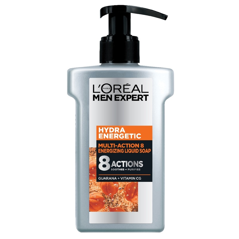 L'Oreal Men Expert Hydra Energetic Multi-Action 8 Serum Foam 150mL