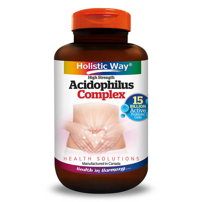 Holistic Way Acidophilus Complex, 30 capsules