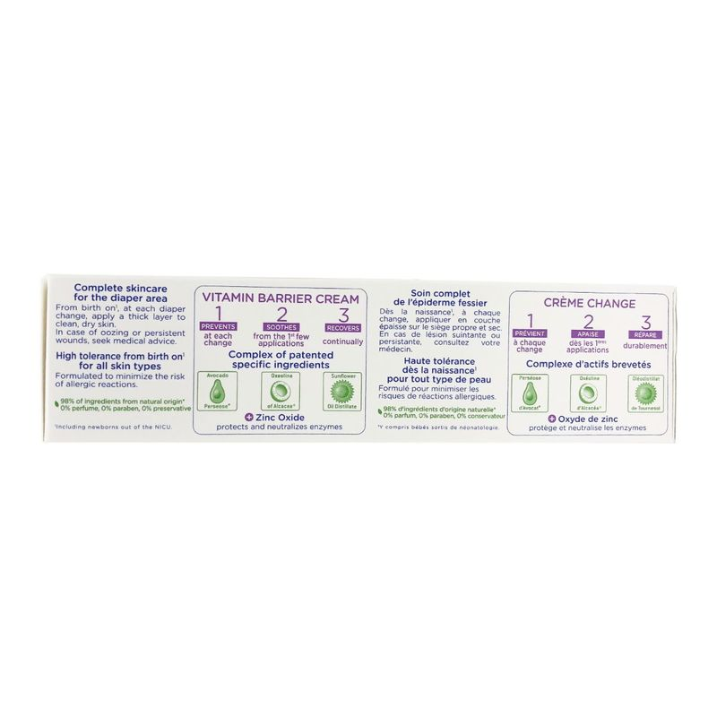Mustela Vitamin Barrier Cream 123 50mL