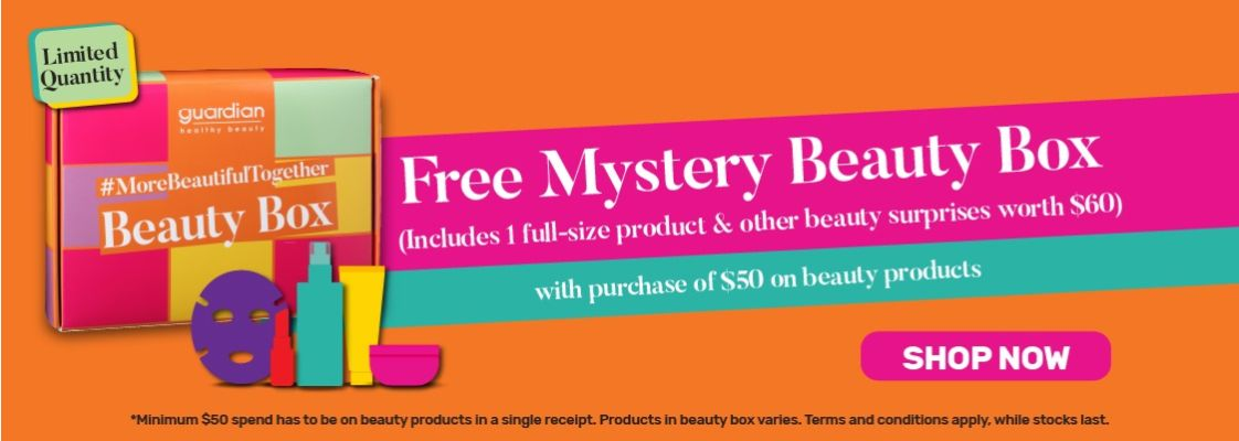 Free Mystery Beauty Box_GWP